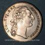 Coins Hainaut. Ville de Valenciennes. Louis XVI. Jeton argent 1775