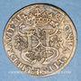 Coins Henri II (1547-1559) et Diane de Poitiers. Jeton cuivre n. d.