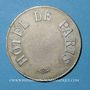 Coins Hôtel de Paris. Jeton publicitaire. Maillechort. 35,2 mm