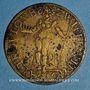 Coins Jeton de compte. Nuremberg, vers 1575. Laiton