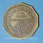 Coins La Ferté-sous-Jouarre (77). Bailly.Propriétaire de carrières, marchand de meules. Jeton publicitaire