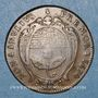 Coins Lorraine. Chambre de Commerce de la Ville de Nancy. Jeton cuivre 1674