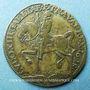 Coins Louis XIII (1610-1643). Jeton cuivre