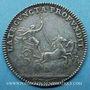Coins Louis XIV (1643-1715). Jeton argent n. d.
