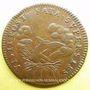 Coins Louis XIV (1643-1715). Jeton cuivre