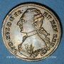 Coins Louis XVI (1774-1793). Jeton laiton n. d.