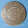 Coins Lyon (69). A l'Union Ouvrière, J. Rossero, Restaurant - Trattoria, G. Rossero. Jeton publicitaire