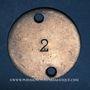 Coins Lyon (69). Bassin Nautique, n° 465. Jeton publicitaire, contremarque 2 à l'avers