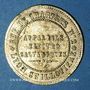 Coins Lyon (69). Clément de Paris - Faire le Bien et laisser dire, Appareils Electrogalvaniques. Jeton pub
