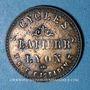 Coins Lyon (69). Courses Tourisme - Cycles Lapierr (3 rue Gasparin). Jeton publicitaire