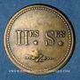 Coins Lyon (69). Renard Père & Fils, Teinturiers Hes* Ses*. Jeton publicitaire
