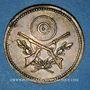Coins Lyon (69), Société de Tir de Lyon, 1873, jeton laiton