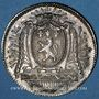 Coins Lyon. Agents de change. Jeton argent 1773
