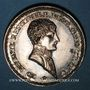 Coins Lyon. Agents de change. Jeton argent 1803. Refrappe