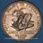Coins Lyon. Agents de change. Jeton argent 1816