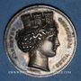 Coins Lyon. Association de la fabrique lyonnaise. Chambre syndicale. Jeton argent