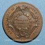 Coins Lyon. Association de la fabrique lyonnaise. Chambre syndicale. Jeton cuivre