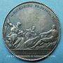 Coins Lyon. Chambre de Commerce. Jeton argent (coin de 1723)