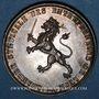 Coins Lyon. Chambre syndicale des entrepreneurs. Jeton argent