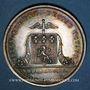 Coins Lyon. Conseil des Prud'hommes. Jeton argent 1818. Sans poinçon