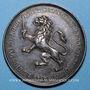 Coins Lyon, Conseil Municipal, jeton argent. Poinçon : main indicatrice