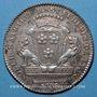 Coins Lyon. Municipalité. M. Rast. Jeton argent 1776