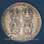 Coins Lyon. Série Municipale. B. Cachet de Montesan. Jeton argent 1707