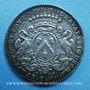 Coins Lyon. Série Municipale. L. Ravat. Jeton argent 1709