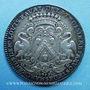 Coins Lyon. Série Municipale. L. Ravat. Jeton argent 1713