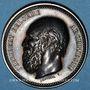 Coins Lyon, Société Académique Architecture, jeton argent. Corne d'abondance, attribution : Joseph Planat