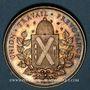 Coins Lyon. Société de Secours Mutuels pour les Ouvriers de la Soie. 1850. Jeton argent. Poinçon : corne