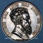 Coins Lyon. Société des Amis des Arts. 1863. Jeton argent