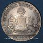 Coins Lyon. Société Royale. Jeton argent 1763
