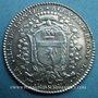 Coins Lyon. Trésoriers généraux. A. Regny. Jeton argent 1785