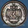 Coins Lyon. Tribunal de commerce. Jeton argent 1847. Poinçon : abeille