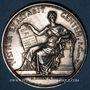 Coins Lyon. Tribunal de commerce. Jeton argent 1847. Poinçon : main indicatrice