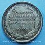 Coins Mâcon, Académie des Sciences - Arts-Belles-Lettres et Agriculture, jeton argent