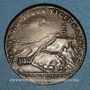 Coins Marly-le-Roi. Louis XIV (1643-1715). Jeton cuivre 1684