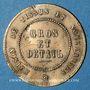 Coins Marseille (13). A la Ville de Paris. Jeton publicitaire, laiton