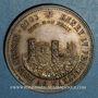 Coins Metz. 3e République. Jeton argent