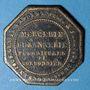 Coins Metz (57) Ferrez (rue de la Tête d'Or), Mercerie, Rubannerie, Fuornitures (sic) de Cordonnier. Jeton