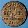 Coins Metz (57). Germann, magasin d'habillement, 30 rue des Jardins. Jeton publicitaire