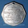 Coins Metz (57). Lothringer Consumverein. Jeton de membre. Laiton chromé