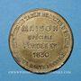 Coins Moulins (03). Boussac (13 rue de l'Horloge) Bijouterie, joaillerie, orfèvrerie argent & ruolz. Jeton