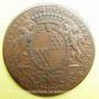 Coins Municipalité de Lyon. C. Perrichon. Jeton cuivre 1737
