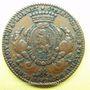 Coins Municipalité de Lyon. J. B. Flachat, seigneur de St Bonnet. Jeton cuivre 1763