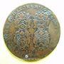 Coins Municipalité de Lyon. L. Ravat. Jeton cuivre 1709