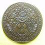 Coins Municipalité de Lyon. M. Aumaistre et M. Delafont. Jeton cuivre