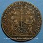 Coins Noblesse de Touraine. Antoine de Ruzé, marquis d'Effiat de Longjumeau. Jeton laiton 1630