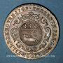 Coins Normandie. Charles-François-Frédéric de Montmorency-Luxembourg, gouverneur. Jeton argent 1709